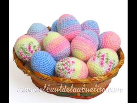 Tutorial Huevos de Pascua Amigurumi (parte 1 de 2)