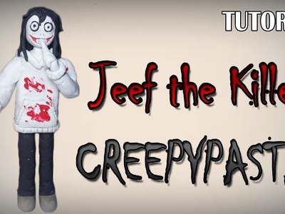 Tutorial Jeff the Killer en Plastilina. Creepypasta. How to make a Jeff the Killer with Clay