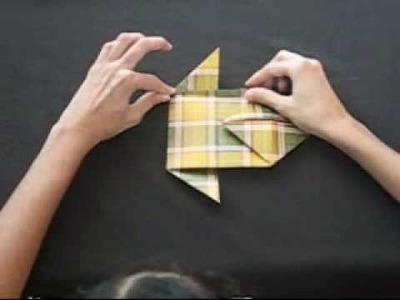 Tutorial Origami - Mariposa