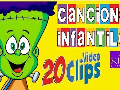 CANCIONES INFANTILES - 20 videos animados