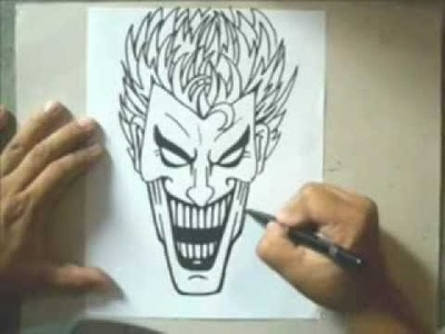 Cómo dibujar a un Joker