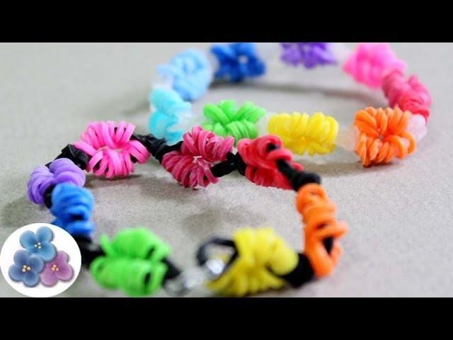 Como Hacer Pulseras de Gomitas Salvavidas Pulseras de Ligas Rainbow Loom DIY Pintura Facil