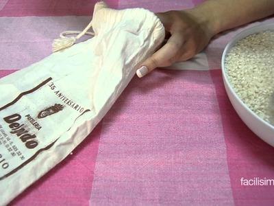 Cómo hacer una bolsa de calor con semillas  | facilisimo.com