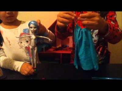 Como hacer vestidos para MH sin tener que coser - Mimundo MH