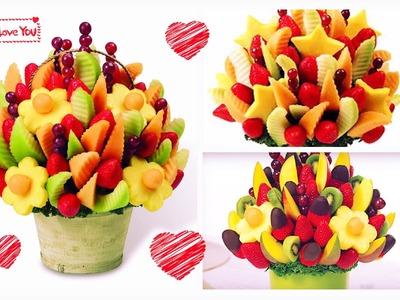 DIY: Arreglo de frutas con CHOCOLATE! Edible Arrangements