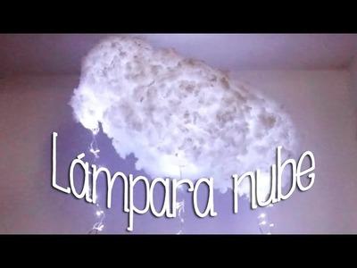 DIY: ¡HAZ TU PROPIA LÁMPARA NUBE! - Cloud Lantern por Lau ツ✾