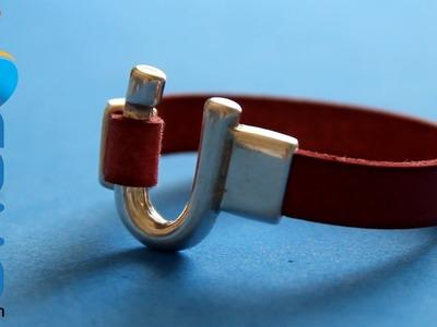 Hacer una pulsera con cierre original