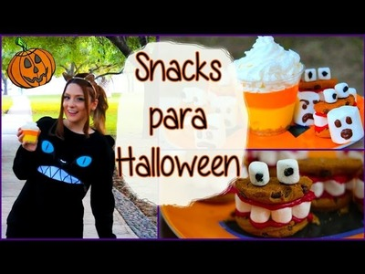 ¡Ideas fáciles de Snacks para Halloween! - Raiza Revelles