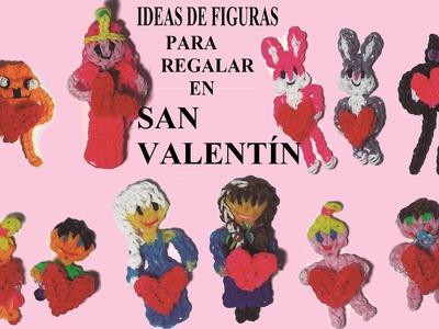 Mis ideas de figuras de gomitas para regalar en San Valentín con un corazón