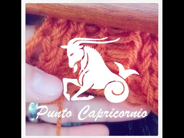 Punto Capricornio en Telar Maya. Capricorn Stitch on Loom