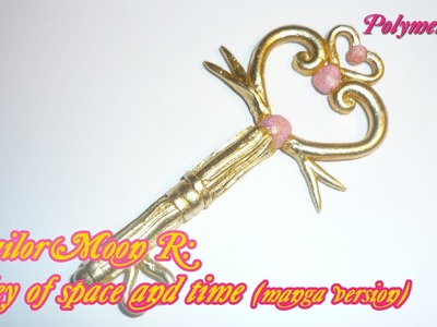 Sailor Moon R: Key of Space and time (manga ver.) Polymer clay