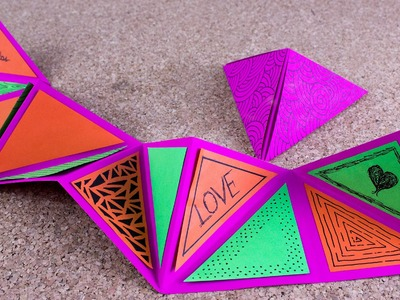 Tarjeta expansiva + cajita piramidal | 14 febr. Jeguridos