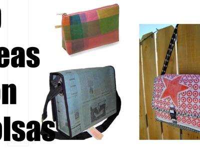 20 ideas de diseños para hacer con bolsas de plástico