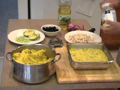 Causa Rellena con Pollo (Cocina Peruana)