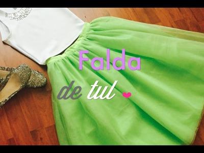 Como Hacer la Falda de TUL más Bonita  :)
