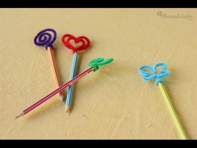 Cómo hacer Lápices decorados