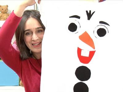 Cómo hacer un disfraz de Olaf para los niños