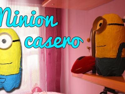 Cómo hacer un minion - Minion Casero (Manualidades Fáciles)