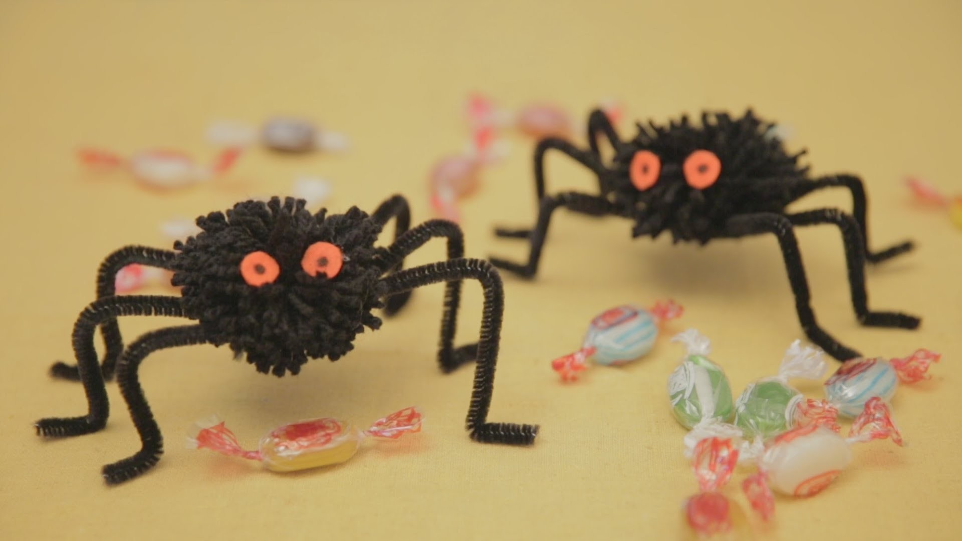 Divertidas Arañas para Halloween