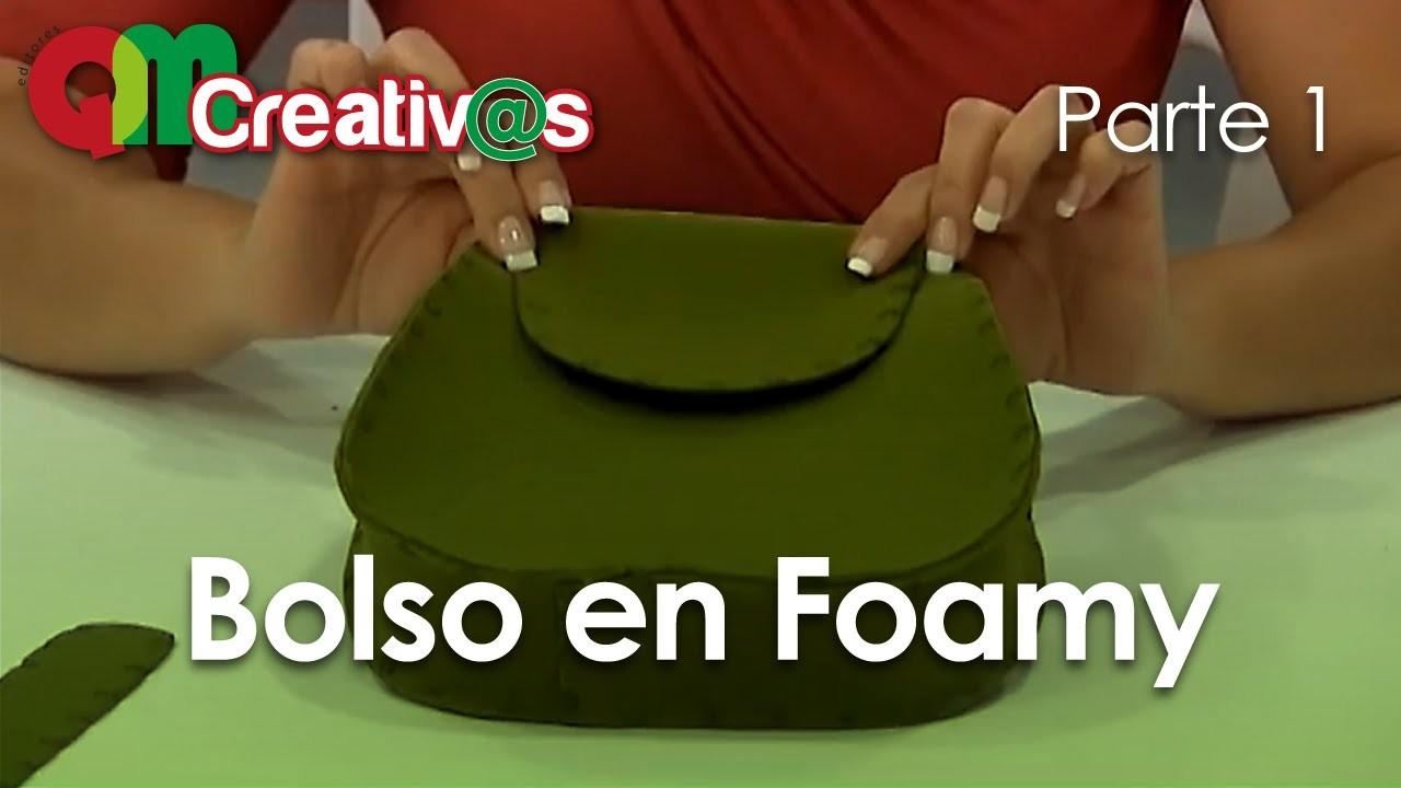 DIY Bolso en Foamy ( Foamy handbag )  1.3