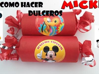 DIY.COMO HACER DULCERO FACIL DE MICKEY MOUSE