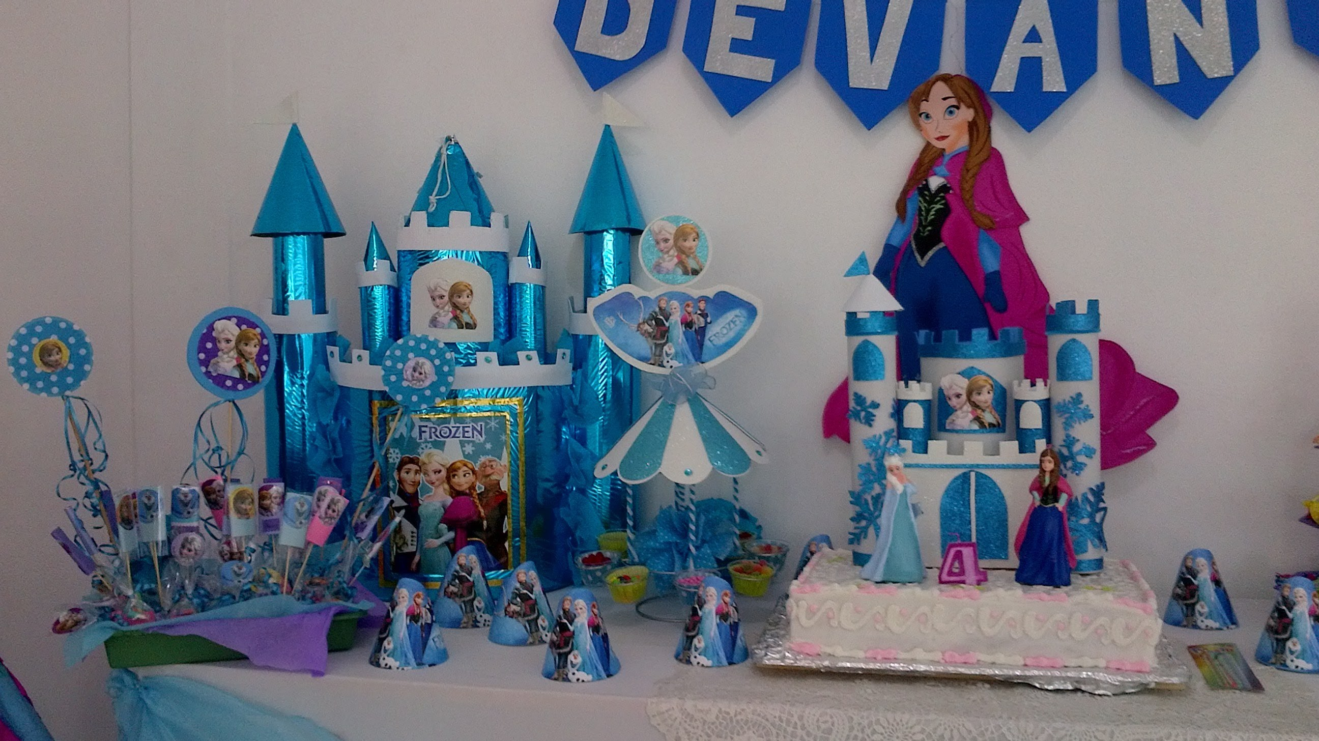 Fiesta de frozen elsa y anna. frozen party! Parte 2