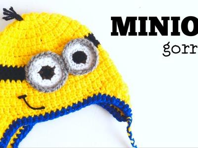 Gorro de Minion a Crochet - TODAS LAS TALLAS - Parte 2