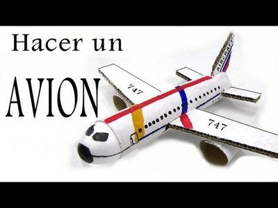 Reciclaje - Como hacer un Avion