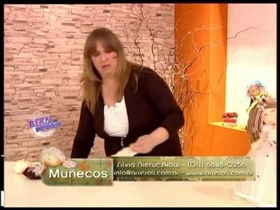 Silvia Nieruczkow - Bienvenidas TV - Muñeca Soft