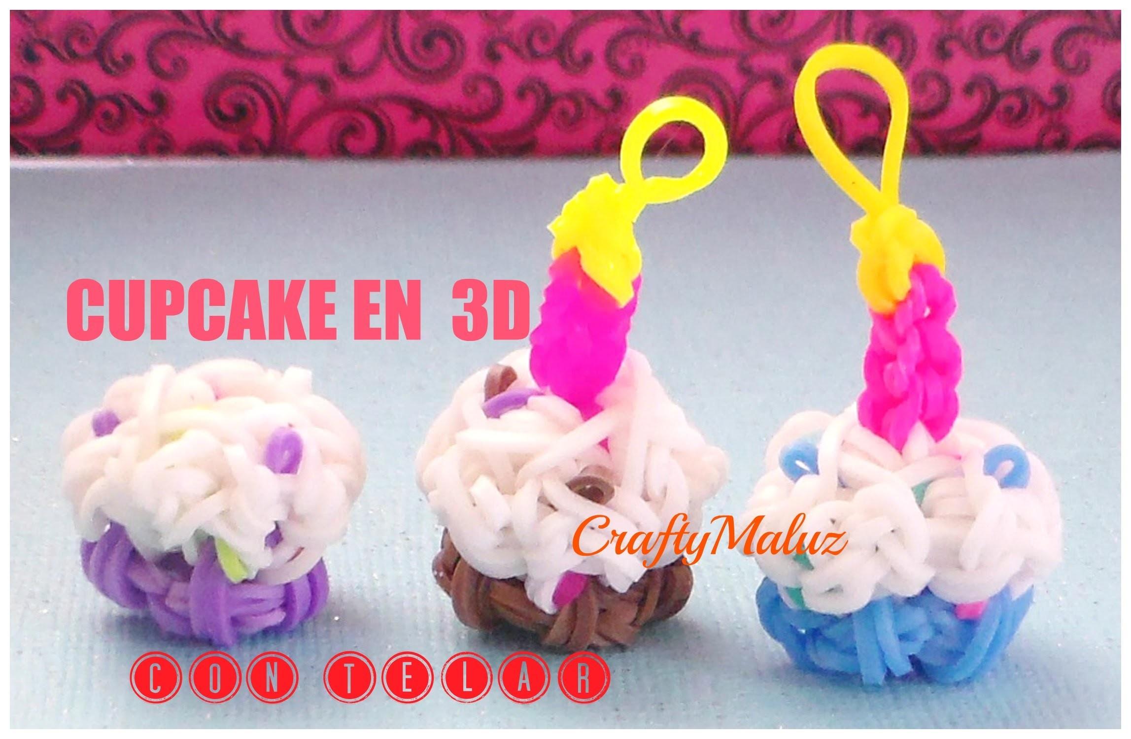 Tutoriales:♥ CUPCAKE EN 3D DE GOMITAS♥