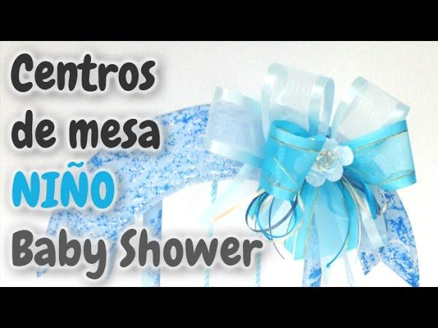 40 Centros de Mesa para Baby Shower *Niño* HD