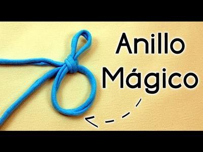 ANILLO MÁGICO EN CROCHET (aro deslizado, círculo mágico, argolla deslizada) | Patrones Valhalla