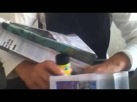 Bolsa de regalo con papel peridico