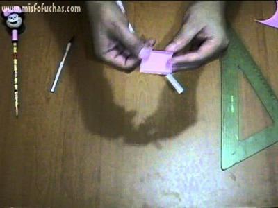 Cómo hacer moños en foami para fofuchas y fofulápices de Minnie Mouse Parte 1