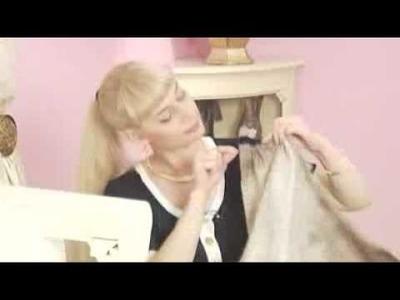 Como hacer una falda larga con abertura al frente