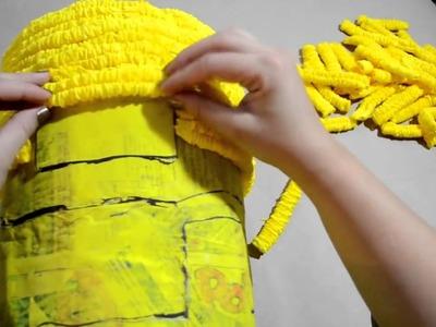 Como hacer una Piñata de minion