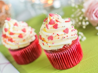 Cupcake Red Velvet - Especial San Valentín
