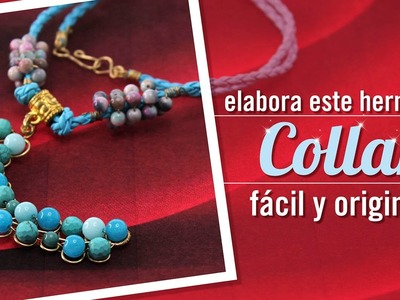#DIY Como hacer un collar de media luna con Carolina Villacis episodio 5