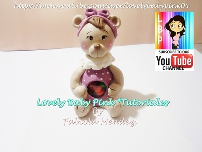 FIGURAS DE PORCELANA FRIA TUTORIAL COMPLETO . How to make Cold porcelain bear