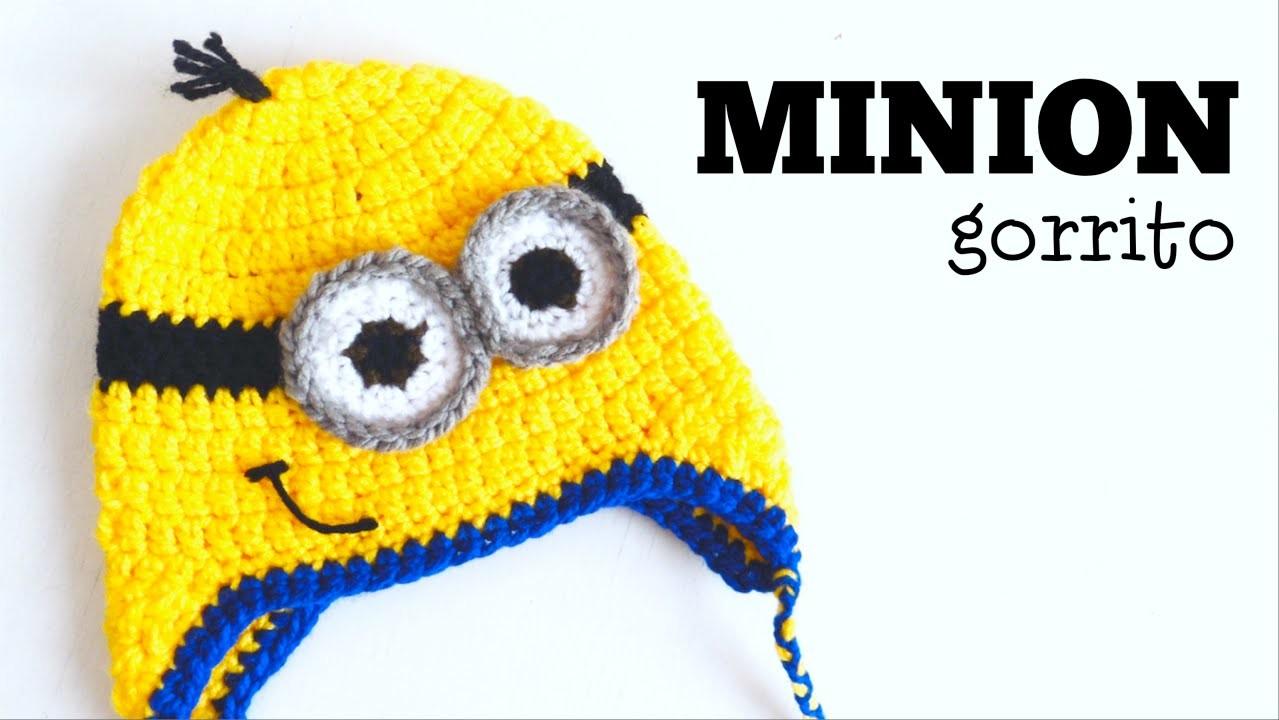 Gorro de Minion a Crochet - TODAS LAS TALLAS - Parte 1