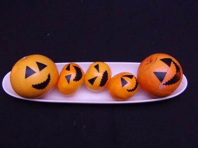 Naranjas como si fueran calabazas  -  Like pumpkins!
