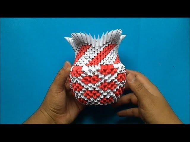 Origami 3D Florero