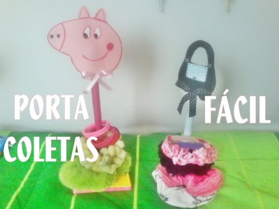 PORTA COLETAS DE PEPPA PIG