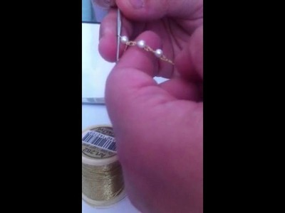 Pulsera de perlas para fofucha
