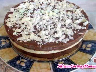 Receta: Torta 3 Chocolates Sin Cuajada - Silvana Cocina Y Manualidades