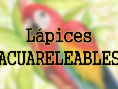 Técnicas de Ilustración 16 LÁPICES ACUARELABLES (Propiedades, uso y aplicación) Faber-Castell