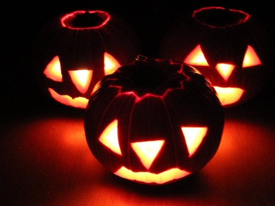 Tutorial: Calabaza linterna de Halloween. Jack-O-Lantern
