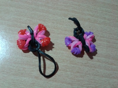 ♥ Tutorial: mariposa de gomitas (sin telar) ♥