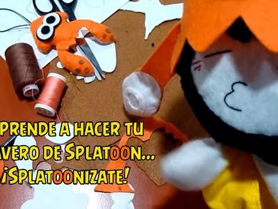 Aprende a hacer tu llavero de Splatoon.  ¡Splatoonizate!