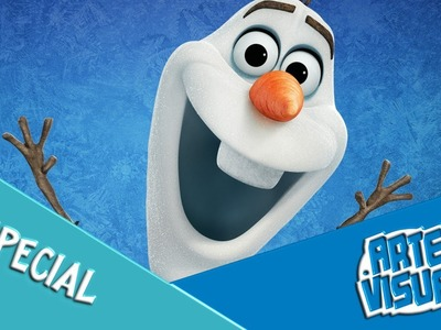 ARTE VISUAL - OLAF, FROZEN